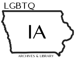Logo for LGBTQ Iowa Archives & Library