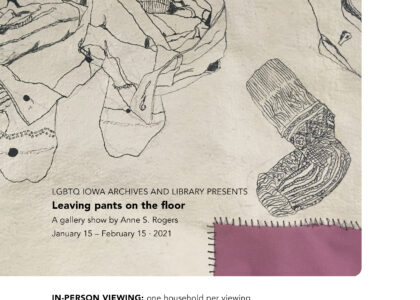 Thumbnail for the post titled: Leaving pants on the floor – Gallery Show Opening